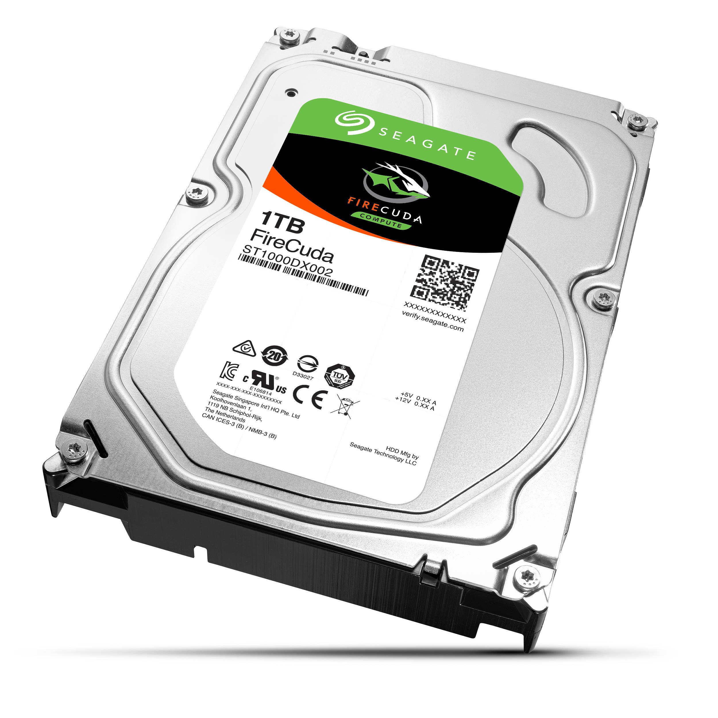 Ổ cứng Seagate FireCuda 1 TB - ST1000DX002 (20,17mm)