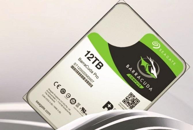Seagate Barracuda Pro 12TB ổ cứng HDD dung lượng siêu khủng chính